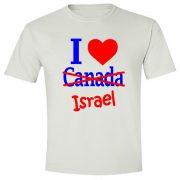 I love Canada-Israel