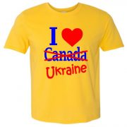 I love Canada-Ukraine
